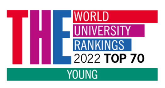 Times Higher Education World University Rankings 2018 Top 200 Young Universities logo
