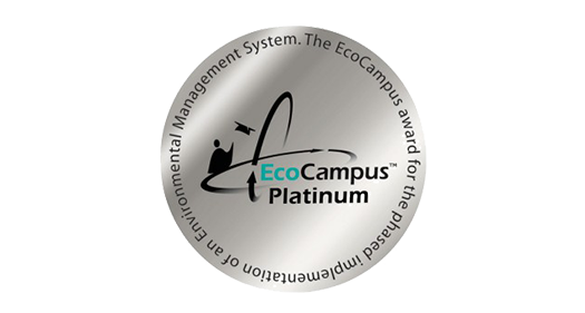 EcoCampus Platinum award for the phased implementation of an Environmental Management System logo