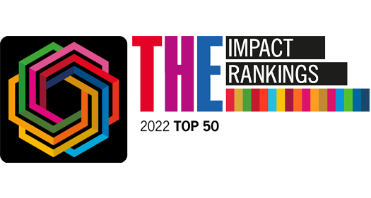 Times Higher Education – University Impact Rankings 2021 Top 60 logo