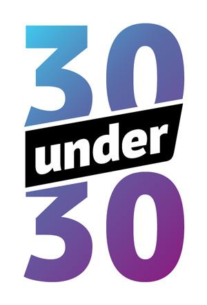 The 30 Under 30 logo
