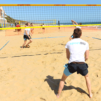 Sport on the beach