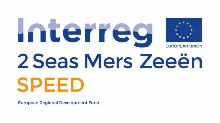 Interreg 2 Seas Mers Zeeen SPEED logo