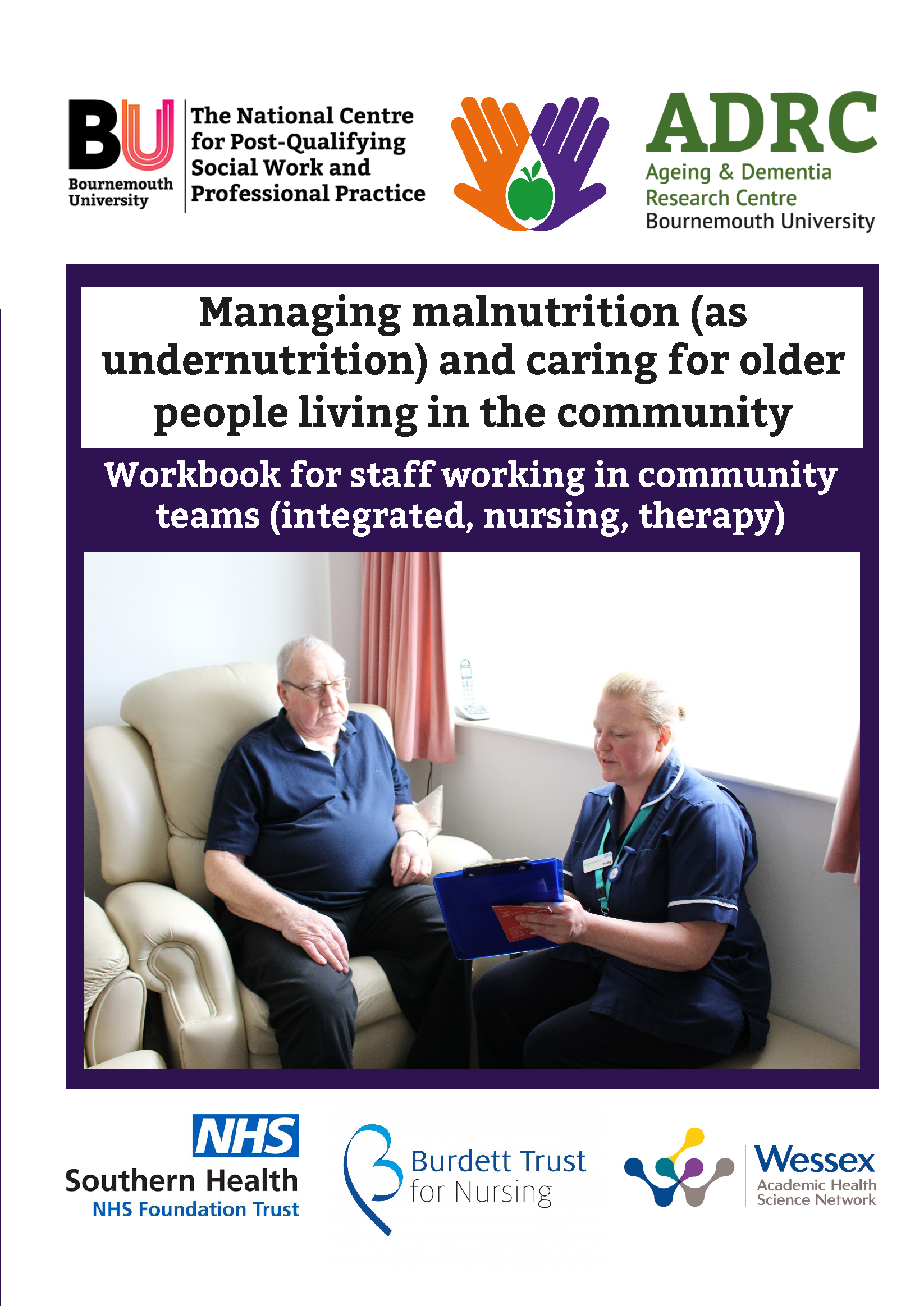 Managing malnutrition and caring for older people in the community guidebook