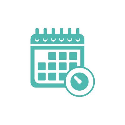 Calendar large icon