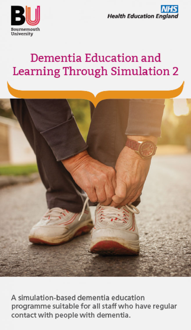 Dementia Education and Learning Through Simulation 2 cover