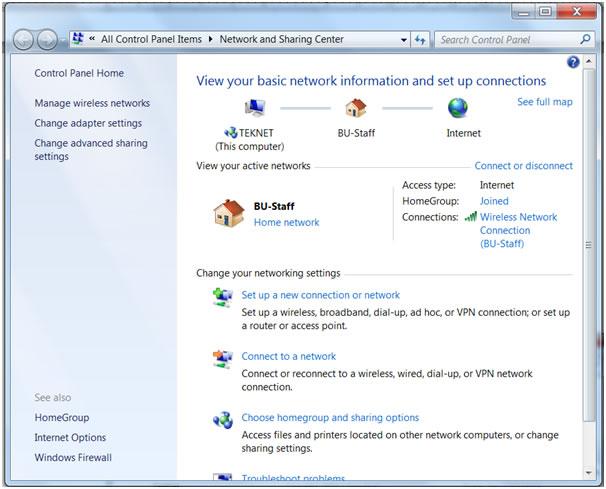 Setting up eduroam on Windows 7 | Bournemouth University