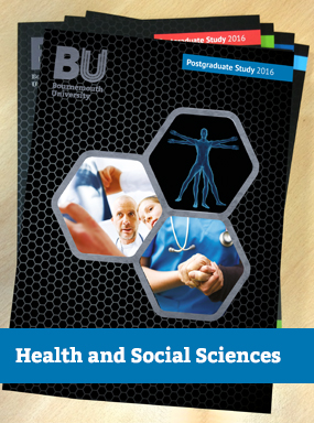 Postgraduate Health and Social Science prospectus