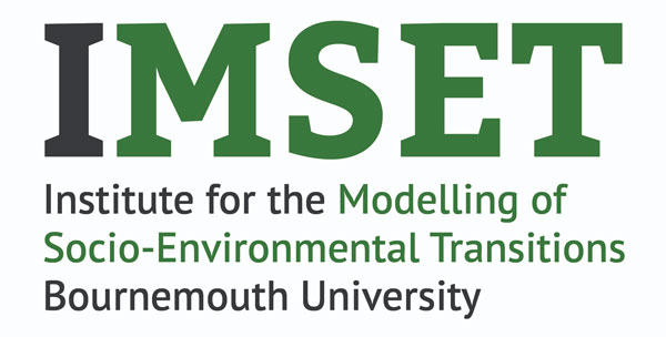 Institute for the Modelling of Socio-Environmental Transitions logo