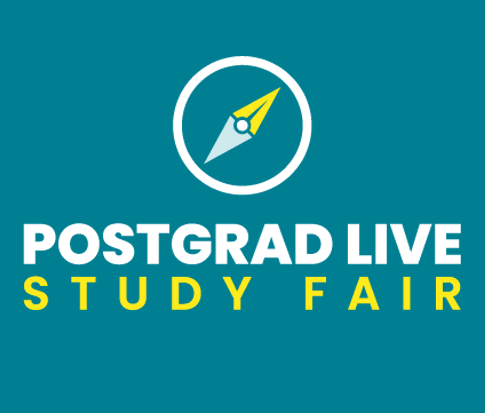 Postgrad Study Fair Live logo