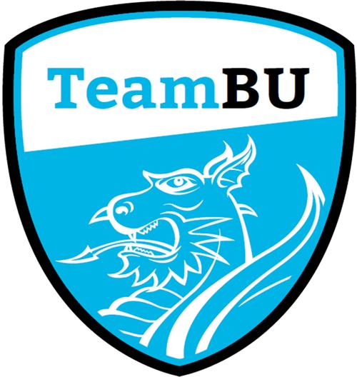 The TeamBU crest, featuring a dragon