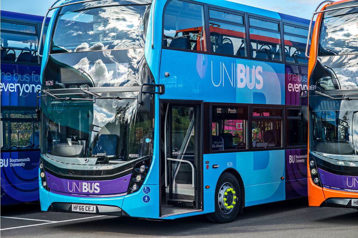 bus to bu - improvements to the unibus service | bournemouth university