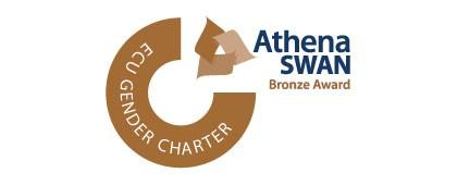 Athena SWAN bronze award logo 2020