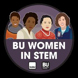 BU Women in STEM logo