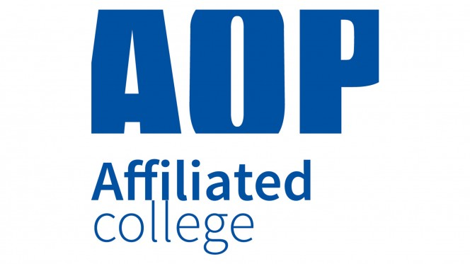 Association of Photographers (AOP) Affiliated College logo