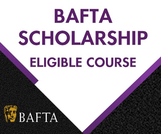 BAFTA scholarship eligible course logo