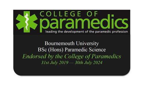 College of Paramedics endorsement to 2024