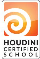 Houdini certified school logo