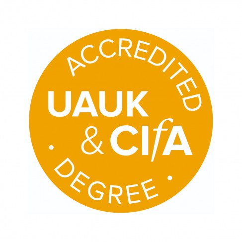 UAUK and CIfA accredited logo