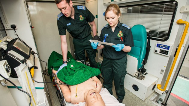 Study Paramedic Science at UCLan - YouTube