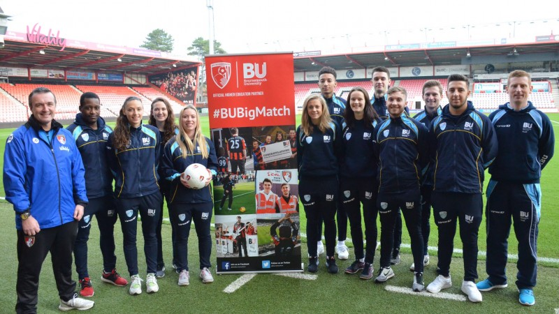 Bu students at AFCB