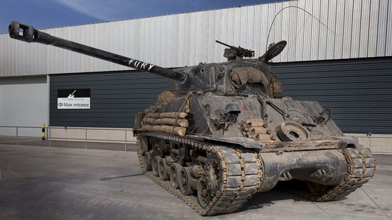 Fury Sherman tank