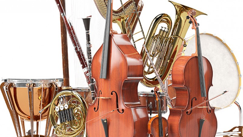 image of musical instruments