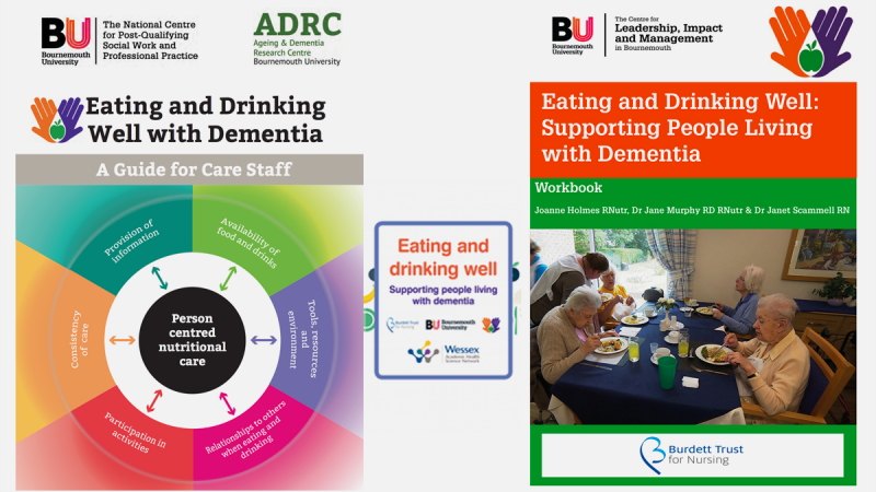 Eating and drinking well with dementia guides promo image