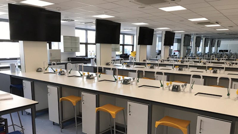 Nutrition labs in Christchurch House
