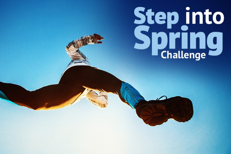 Step into Spring Challenge completed