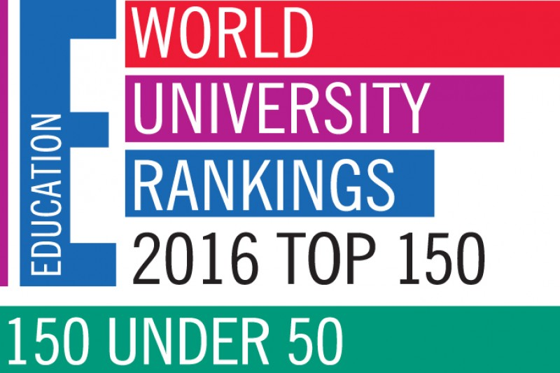 Times Higher Education logo top 150 under 50