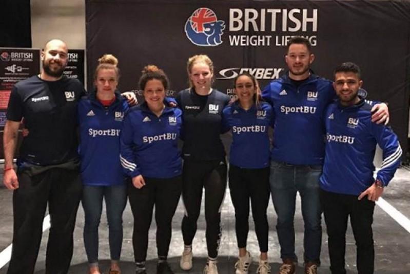 BU Weightlifting take 2nd at English Championships