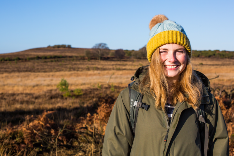 BU student Josie Hagan on placement at the New Forest National Park