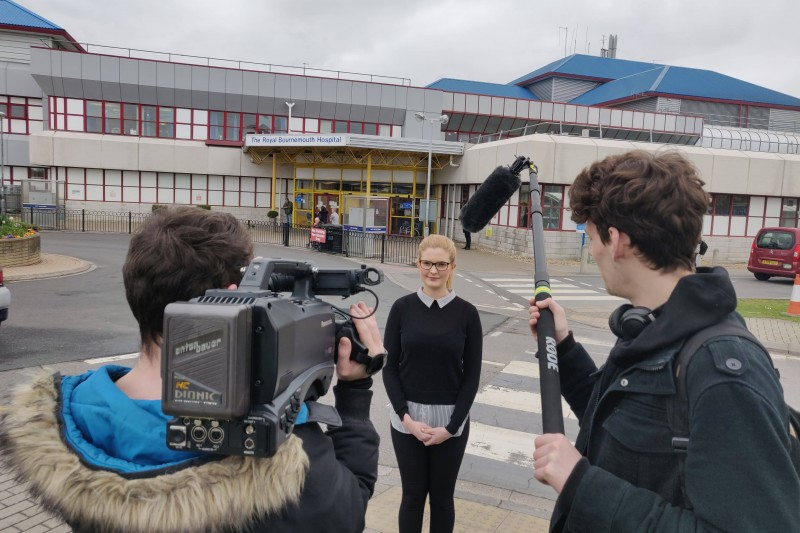 BU TV students hold Brexit Live programme on Friday 29 March