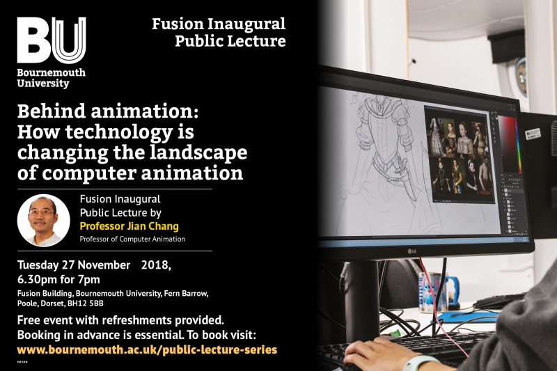 Behind animation - Fusion Inaugural Lecture