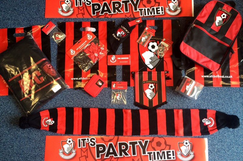 AFC Bournemouth competition goodies
