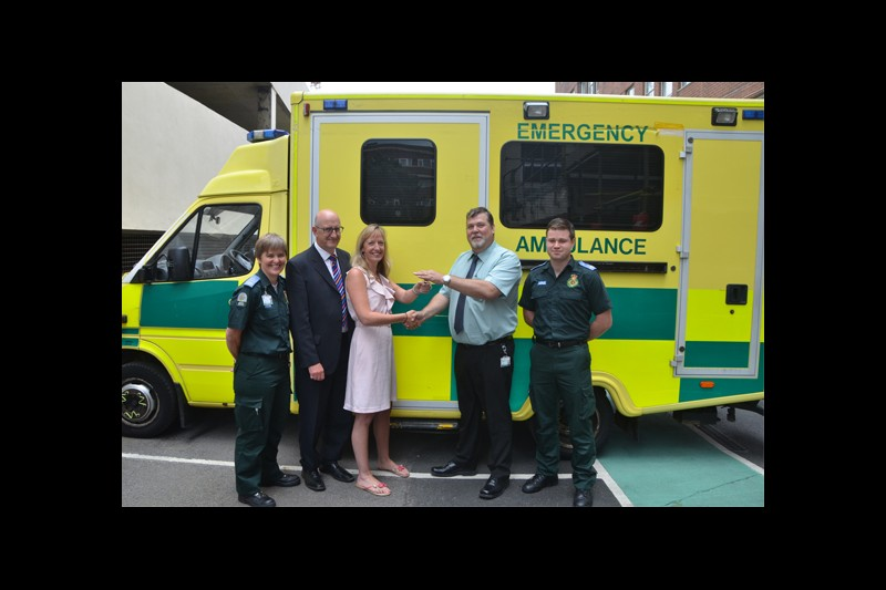 BU ambulance adds touch of reality to paramedic training