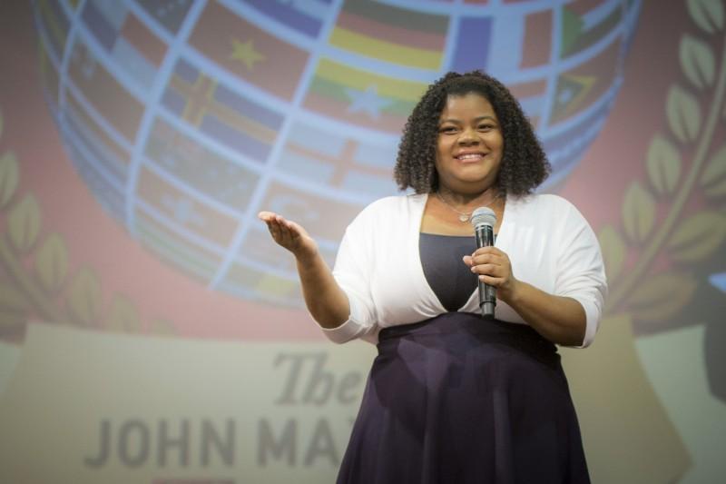 Angelique Holmes, BU alumna