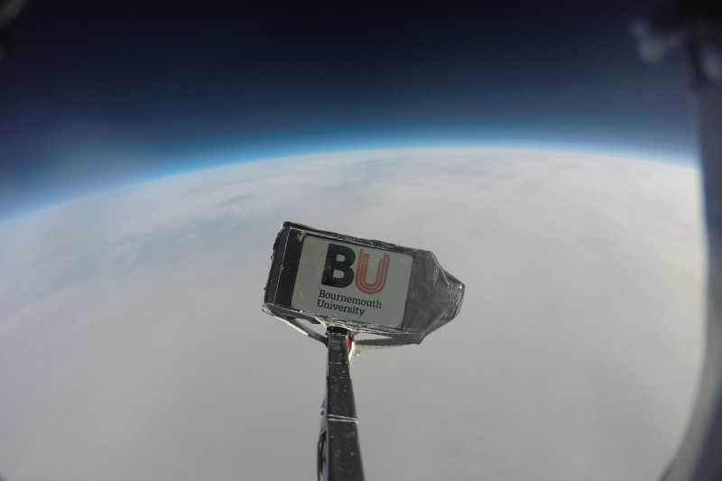 A photo taken by the probe