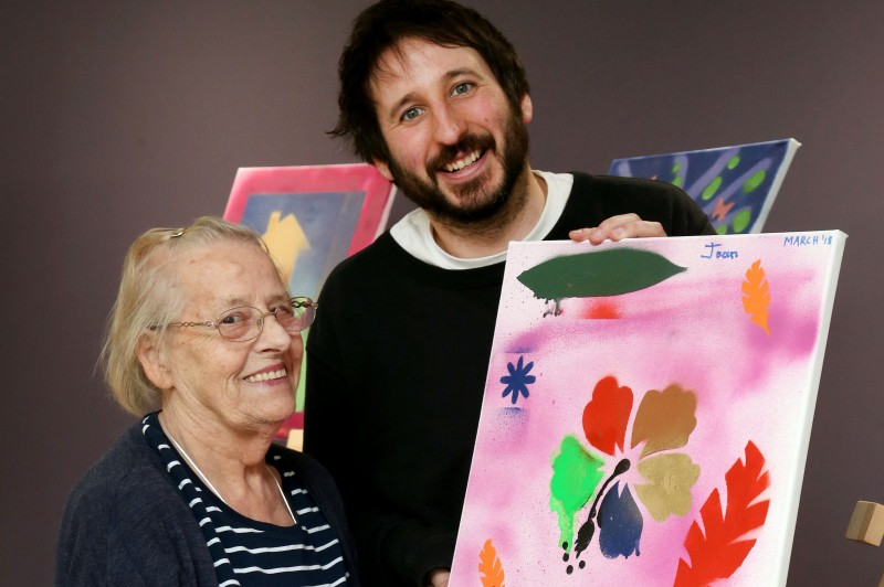Graffiti for dementia sufferers