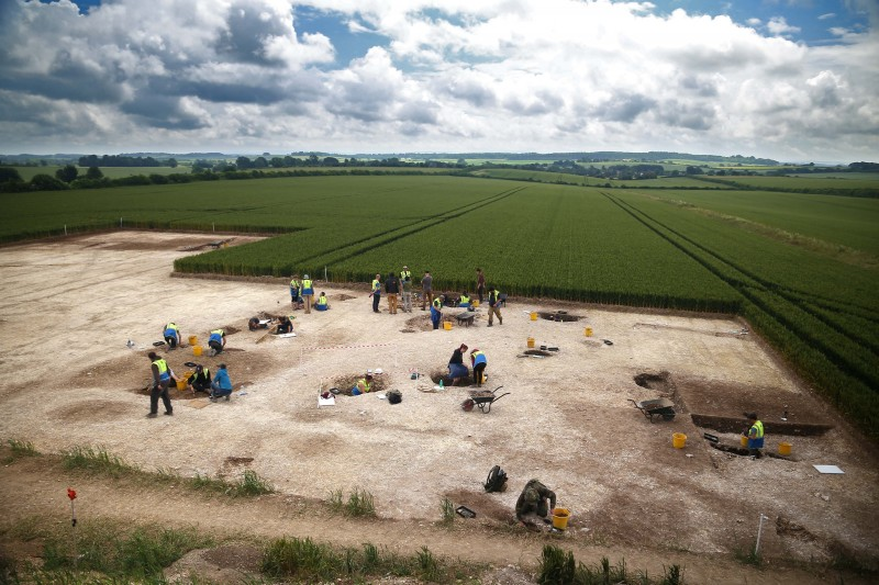 BU archaeologists discover more about prehistoric life in Dorset's Iron Age 'Duropolis'
