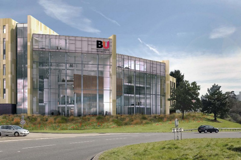Artist impression of Bournemouth Gateway building