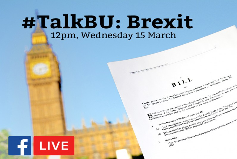 VIDEO: TalkBU presents: Article 50. What next?