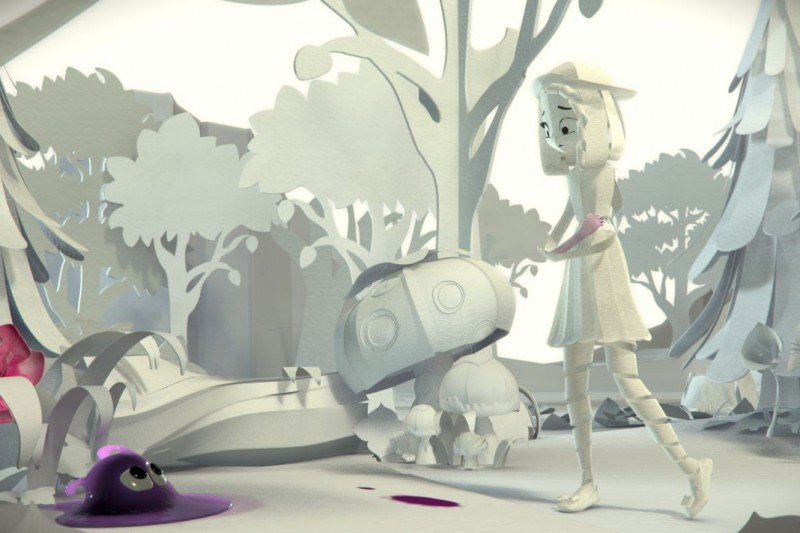 Computer animation example work