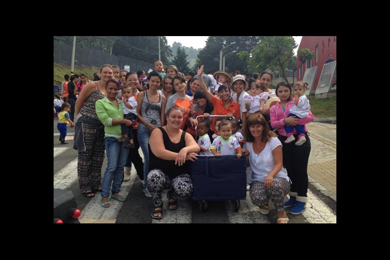 Students provide support to Colombian communities