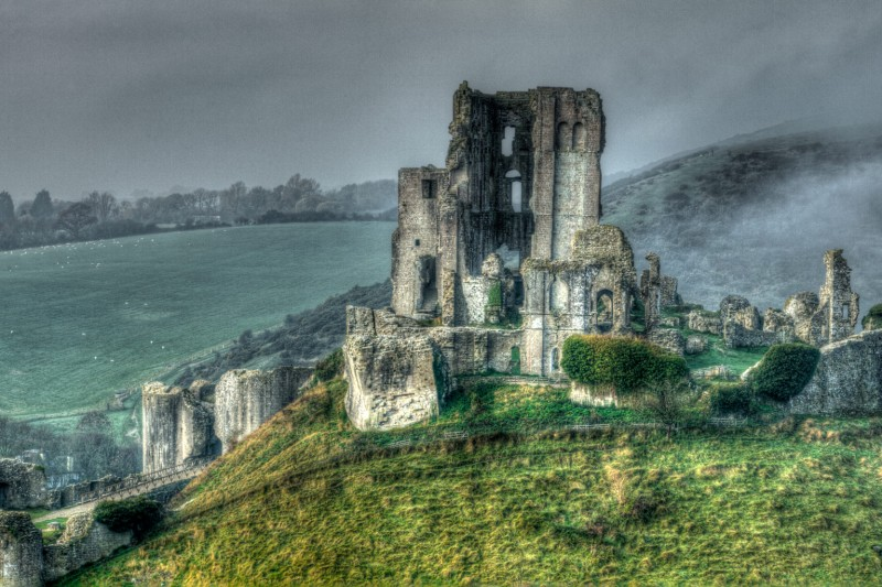 Corfe Castle - The First Conquest