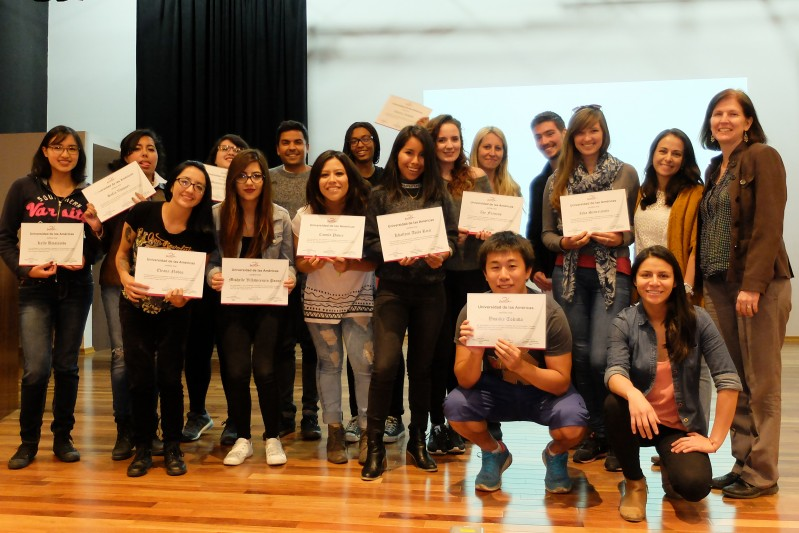 BU students participate in Communication Summer Academy in Ecuador