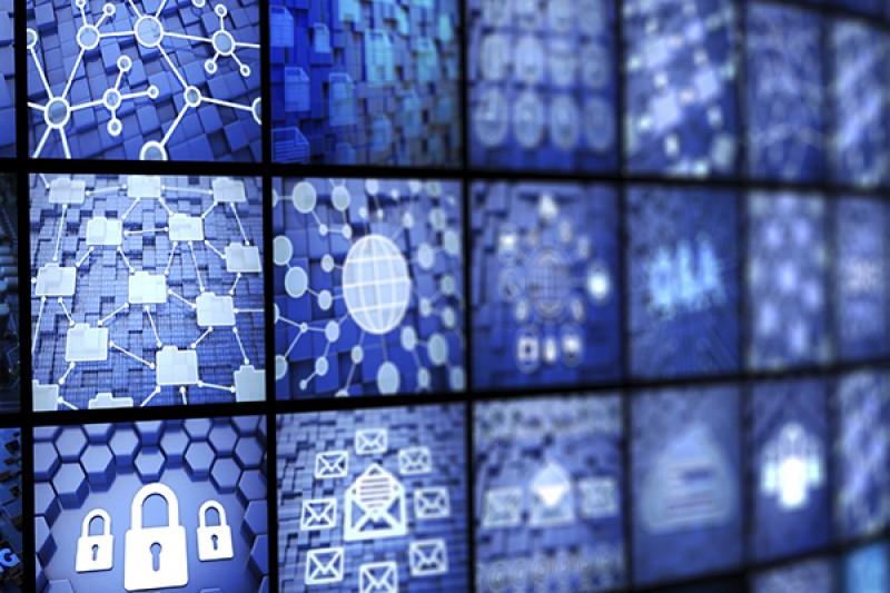 Wall of monitors