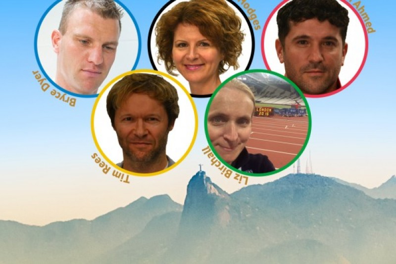 BU making a Olympics and Paralympics difference staff collage