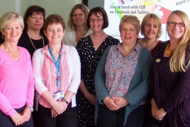 CQR members - Lee-Ann Fenge; Caroline Ellis-Hill; Maggie Hutchings; Michele Board; Anne Quinney