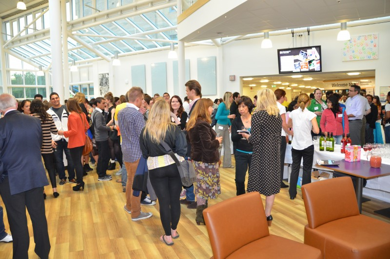 Welcome events for international students